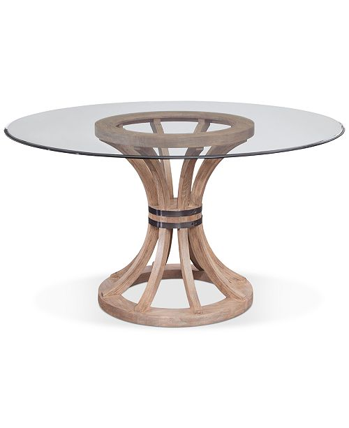 """Furniture Sheffield 54"""" Round Dining Table"""