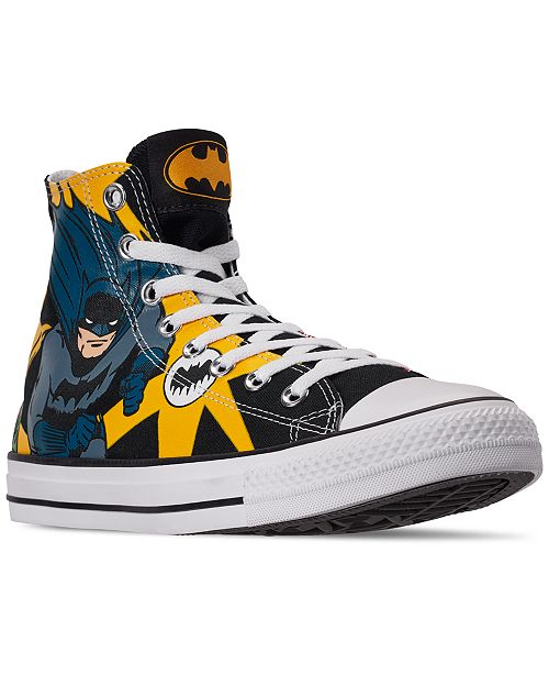 Converse Men's Chuck Taylor All Star Batman High Top Casual