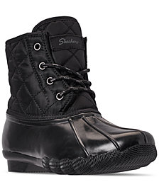 Skechers Women's Pond Quacker Duck Boots from Finish Line