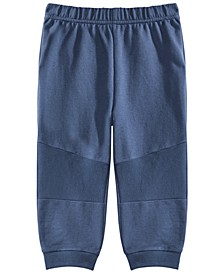 Baby Boys Moto-Panel Jogger Pants, Created For Macy's