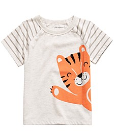 Baby Boys Tiger-Print T-Shirt, Created For Macy's