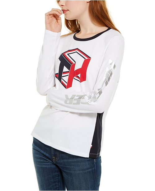 Tommy Hilfiger Cube Logo T-Shirt, Created For Macy's