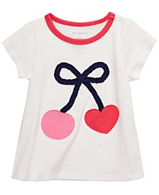 Toddler Girls Cotton Cherry T-Shirt, Created for Macy's