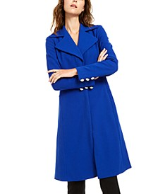 INC Seamed Ponte-Knit Coat, Created For Macy's