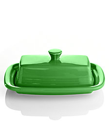 Fiesta Shamrock XL Covered Butter Dish