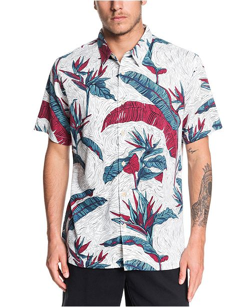 Quiksilver Quiksilver Men's Under Warm Rain Shirt
