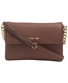 Hayden Flap Leather Crossbody