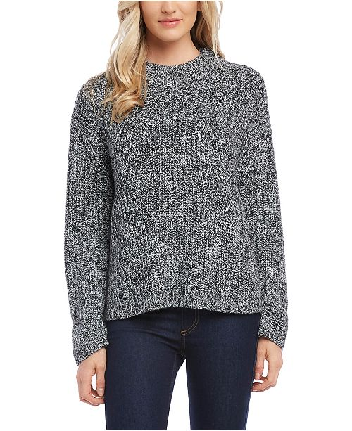 Karen Kane Marled-Knit Sweater
