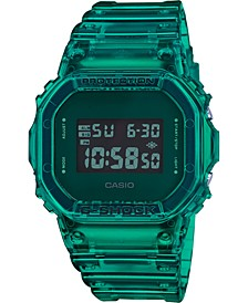Men's Digital Green Resin Strap Watch 42.8mm