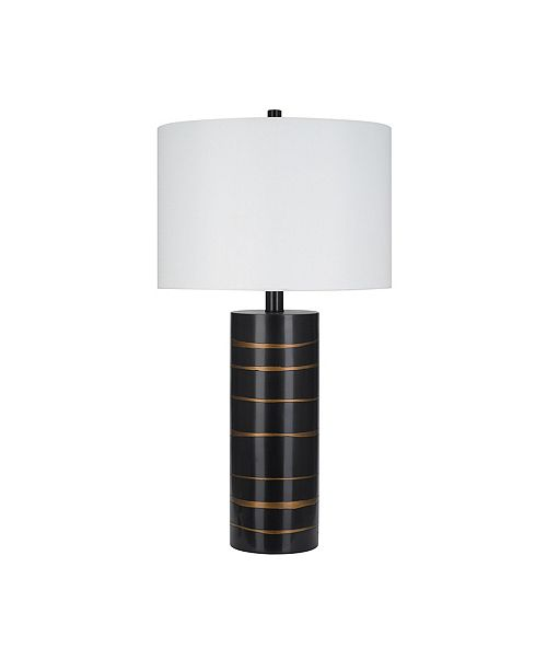 JAlexander Lighting Zara Brushed Gold-Tone Table Lamp