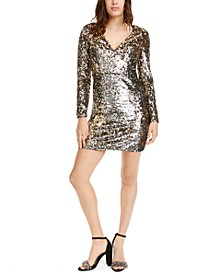 Sequined Bodycon Dress