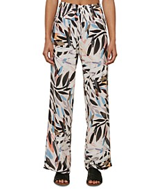 Juniors' Johnny Floral-Print Soft Pants