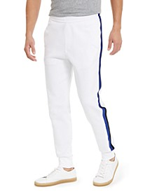 Men's Side Stripe Fleece Jogger Pants