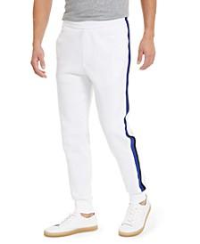 Men's Side Stripe Fleece Jogger Pants