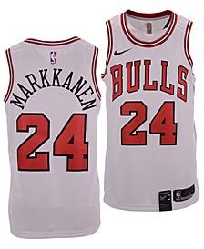 Men's Lauri Markkanen Chicago Bulls Association Swingman Jersey