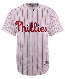 Men's Philadelphia Phillies Blank Replica Cool Base Jersey