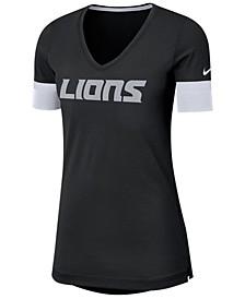 Women's Detroit Lions Dri-Fit Fan Top