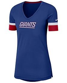 Women's New York Giants Dri-Fit Fan Top