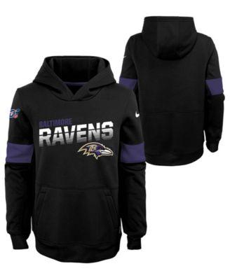 Big Boys Baltimore Ravens Therma Hoodie