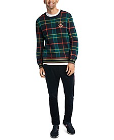 Men's Pat Regular-Fit Plaid Sweater