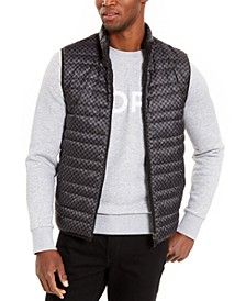 Men's Lightweight Reversible Puffer Vest