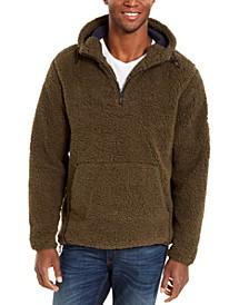 Men's Sherpa Quarter-Zip Sweater