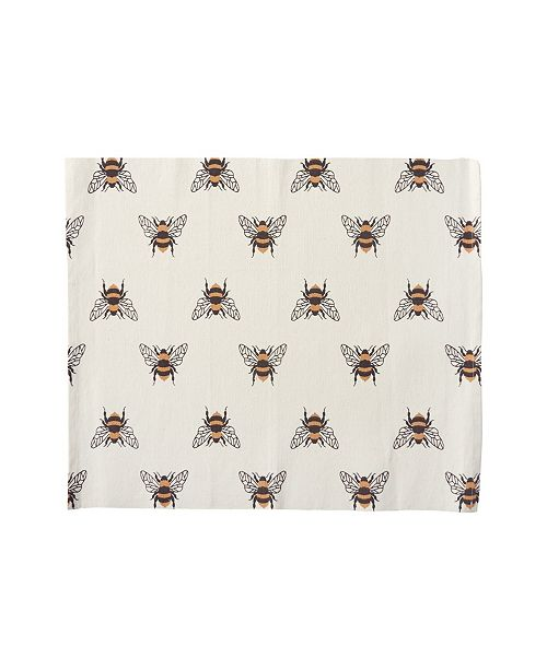 C&F Home C F Home Bumble Bee Placemat, Set of 6