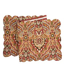 "C F Home Mirabelle Quilted Runner, 14""X 51"""