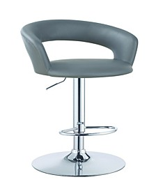 Berkeley 29-Inch Upholstered Bar Stool with Adjustable Height