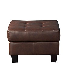 Gunnison Ottoman with Cushioned Top