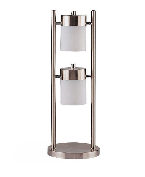 Coaster Home Furnishings Calumet Table Lamp with 2 Adjustable Swivel