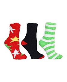 Star Cozy Sock Giftbox, 3-Pack