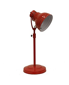 Decor Therapy Desk Task Table Lamp with Adjustable Shade