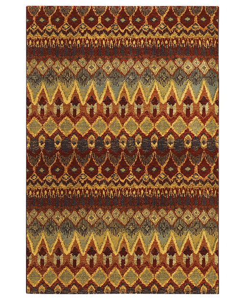 "Couristan Area Rug, Taylor Caliente Multi 5'3"" x 7'6"""