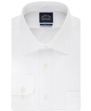 Men's Slim-Fit Non-Iron Flex Collar Dress Shirt