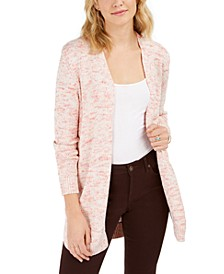 Open Marled-Knit Cardigan, Created for Macy's