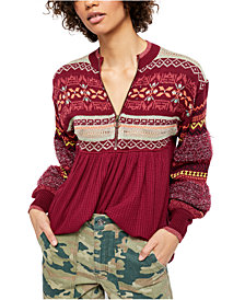 Free People Cabin Fever Top