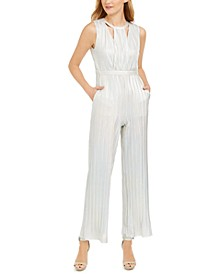 Cutout Iridescent Jumpsuit