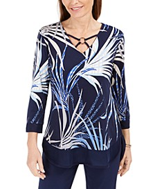 Embellished Crisscross Top, Created for Macy's