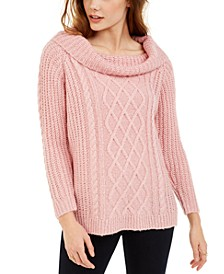 Juniors' Off-The-Shoulder Sweater