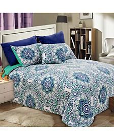 Mosaic 8 Piece Comforter Set - Queen
