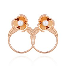 Fall in Love with Florals Hoop Earring