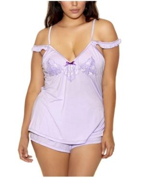 Plus Size Alicia Cami & Short Set