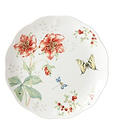 Butterfly Meadow Red Tiger Swallowtail Dinner Plate, Created for Macy's