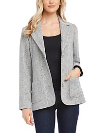 Tweed Blazer Jacket