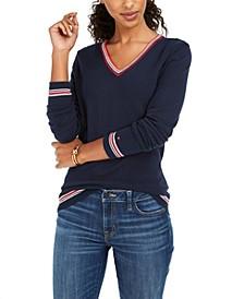 Border Ivy Cotton Sweater