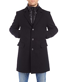 Men's Walker Wool Blend Jacket with Quilted Bib