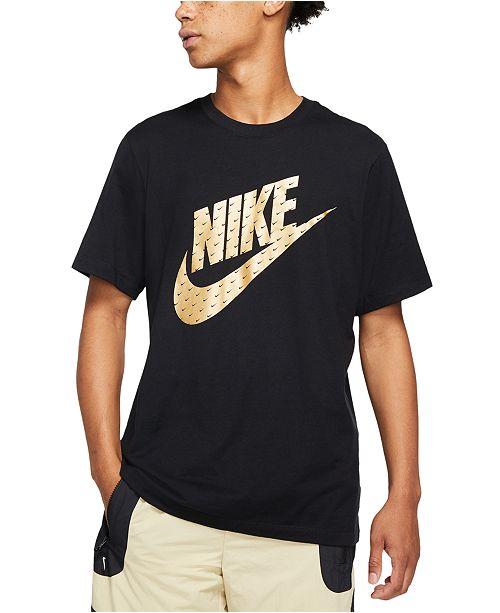 Nike Men's Sportswear Metallic Logo T-Shirt