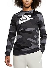 Men's Sportswear Camo-Print Long-Sleeve T-Shirt