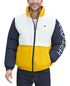 Men's Nylon Taslan Retro Puffer Jacket